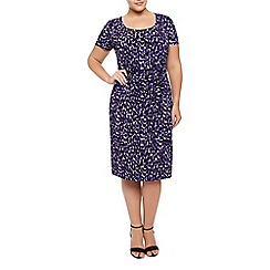 Windsmoor - Purple Print Dress