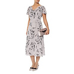 Jacques Vert - Soft Etched Floral Dress