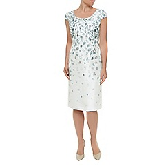 Jacques Vert - Trailing petal dress with trim