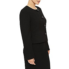 Precis Petite - Collarless Textured Jacket