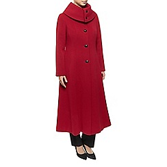 Jacques Vert - Long Fit And Flare Dress Coat