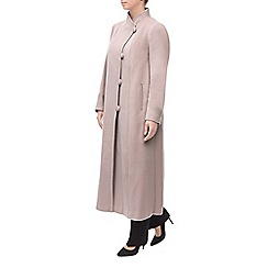 Jacques Vert - Long Stand Collar Coat