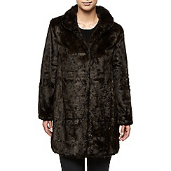 Jacques Vert - Textured Fur Coat