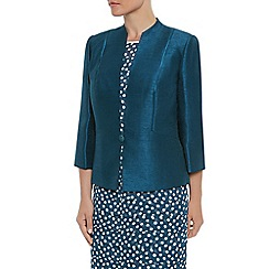 Jacques Vert - 1 button satin trim jacket