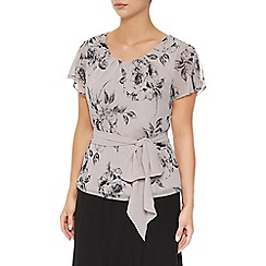 Jacques Vert - Soft Etched Floral Top