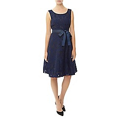 Kaliko - Floral Burnout Prom Dress