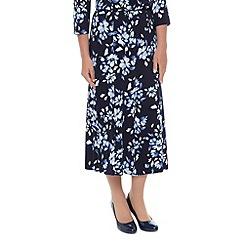Eastex - Petite marseille mono skirt