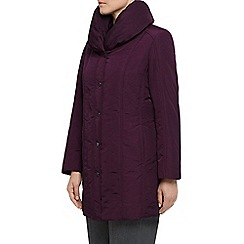 Eastex - Long Length Ruch Collar Coat