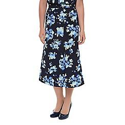 Eastex - Ikat floral skirt
