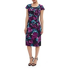 Precis Petite - Floral print satin dress