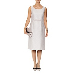 Jacques Vert - Pearl Detail Jacquard Dress