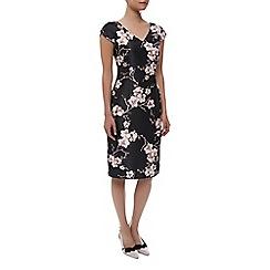 Jacques Vert - Petite Orchid Print Dress