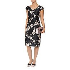 Jacques Vert - All over orchid print dress
