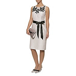 Jacques Vert - Embroidered yoke dress