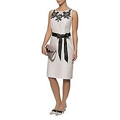 Jacques Vert - Embroidered yoke dress