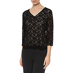 Kaliko - Dot embroidered blouse