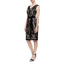 Kaliko - Lace v neck shift dress