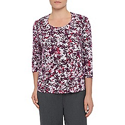 Eastex - Ditsy Spot Print Top