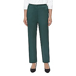 Eastex - Dark green melange trouser