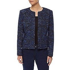 Precis Petite - Blue Tweed Jacket