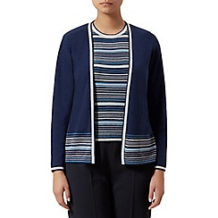 Eastex - Edge to edge stripe cardigan
