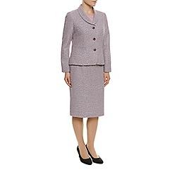 Eastex - Shawl Collar Tweed Jacket