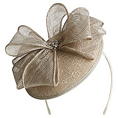 Kaliko - Lace disc bow fascinator