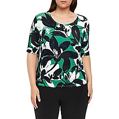 Windsmoor - Flower print jersey top