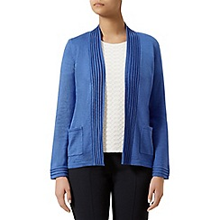 Eastex - Pleat edge to edge cardigan