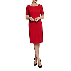 Planet - Red Ponte Dress