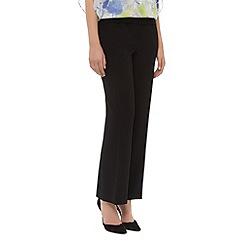 Planet - Soft crepe straight leg trousers