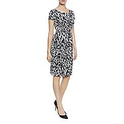 Planet - Animal Print Jersey Dress