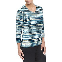 Eastex - Venice Watercolour Stripe Top