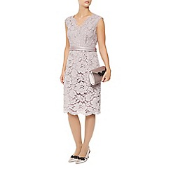 Jacques Vert - Opulent Lace Cross Front Dress