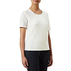 Eastex - Textured short sleeve top