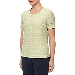 Eastex - Soft apple textured top