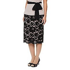Jacques Vert - Opulent Lace Pencil Skirt
