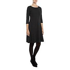 Kaliko - Textured Ponte skater dress