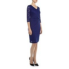 Kaliko - Twist waist lace shift dress