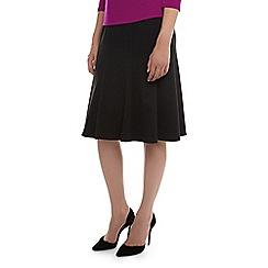 Kaliko - Flippy Ponte Belted Skirt