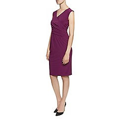 Planet - Wine Ity Jersey Wrap Dress