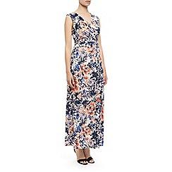 Kaliko - Floral print maxi dress