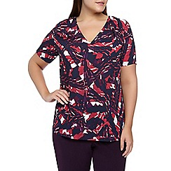Windsmoor - Abstract Print Top