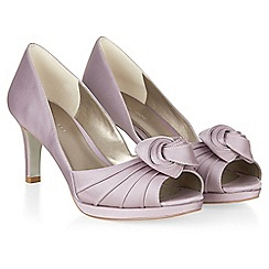 Jacques Vert - Twist Trim Pleat Bow Shoe