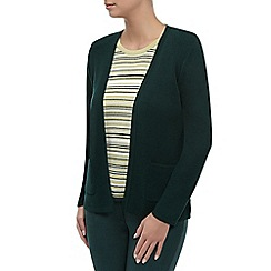 Eastex - Green edge to edge cardigan