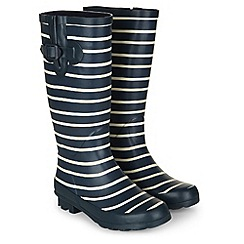 Dash - Long Striped Welly