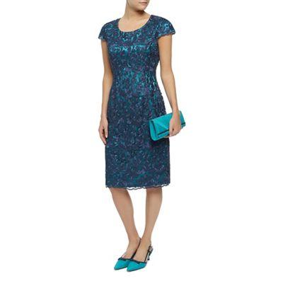 Jacques Vert Petite Corded Lace Dress - . -
