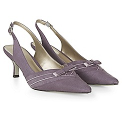 Jacques Vert - Piped Bow Slingback Shoe