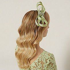 Kaliko - Lime loop fascinator