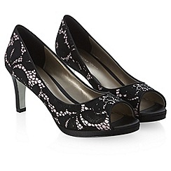 Jacques Vert - Overlay Lace Shoe